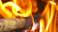 Stock Video Footage of 60p Fire Flames 2