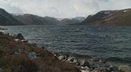 Loch Muick Landscape 7 (Scotland) Stock Footage