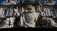 Stock Video Footage of London, Saint Paul's Statues