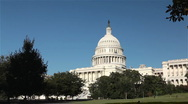 Stock Video Footage of Capitol Building, Washington DC