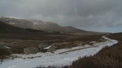 Loch Muick Landscape 4 (Scotland) Stock Footage
