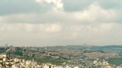 Jerusalem timelapse 0311 Stock Footage