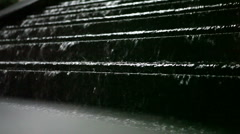 Fountain at National Archives / Navy Memorial Stock Footage