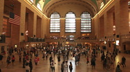 Stock Video Footage of Grand Central Station, New York