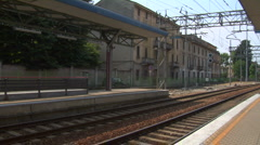 Train station 02 Stock Footage