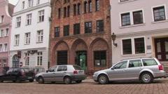 Merchant house, Germany Stock Footage