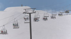 Ski lift Stock Footage