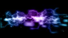 Plasma Energy Abstract Stock Footage