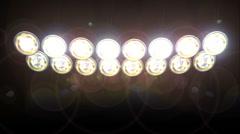 Concert Lights Loop - stock footage