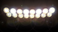 Concert Lights Loop Stock Footage