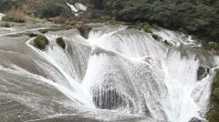 Waterfalls in China Stock Footage
