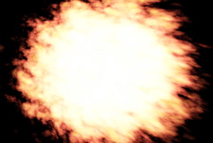Explosion Transition with Alpha Stock Footage