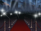 Stock Video Footage of Red Carpet with Audio