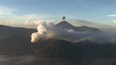 Stock Video Footage of Mt. Bromo