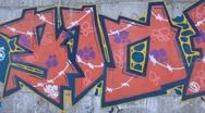 Graffiti Stock Footage