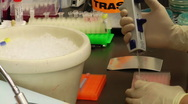 Molecular Biology research Stock Footage