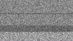 Static TV Noise 1080p with Sound - stock footage