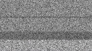 Stock Video Footage of Static TV Noise 1080p with Sound
