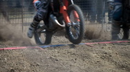 Stock Video Footage of motocross start