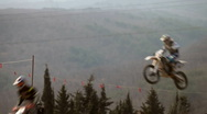 Stock Video Footage of flying moto