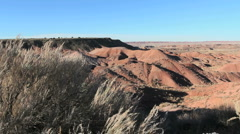 Arizona's Painted Desert Stock Footage
