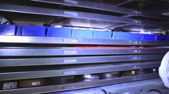 Automated Storage facility  Stock Footage