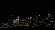 Stock Video Footage of San Francisco City Lights