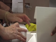 Boxed Lunches Stock Footage
