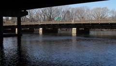 Bridge Passaic River Stock Footage