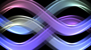 Colorful infinity looping background Stock Footage