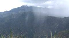 View from Little Adams Peak - stock footage
