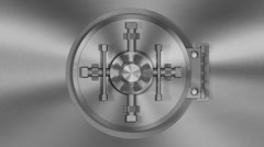 Bank Vault Transition HD Stock Footage