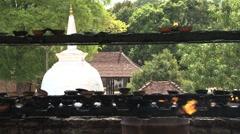Prayer place Stock Footage