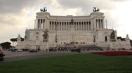 A Majestic Roman Palace Stock Footage