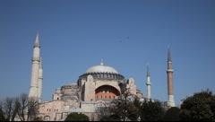 Istanbul Hagia Sophia Museum - stock footage