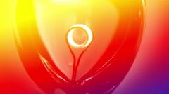 Glower lightbulb is on vj Stock Footage