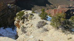 Grand Canyon Scenic Pan Stock Footage