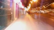 Madrid Street zoom timelapse Stock Footage