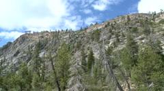 Lake Tahoe-Clouds Mountain - stock footage