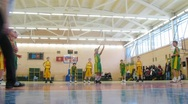 Stock Video Footage of Basketball in Russian State University of Physical Education