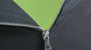 Zipper opening Stock Footage