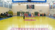 Stock Video Footage of Men play basketball in Russian State University of Physical Education