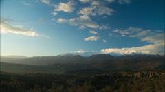 Timelapse mountains of Crete Stock Footage