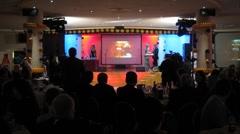 XIV Blockbaster palkintojenjakotilaisuudessa Renaissance Hotel Arkistovideo