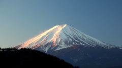 Mt Fuji,  Japan, Asia Stock Footage