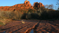 Cathedral Rock Scenic Stock Footage