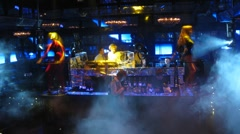 Stage of Imperia Lounge during Europa Plus TV party Stock Footage