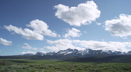 Idaho Peaks Big Sky 4 Stock Footage