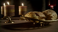 Communion Wide Dolly (480p / 23.98) Stock Footage