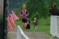 Runner Finishing Race Footage